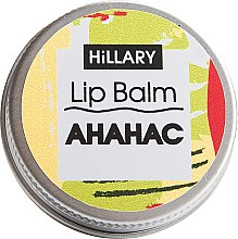 "Духи, Парфюмерия, косметика Бальзам для губ ""Ананас"" - Hillary Lip Balm"