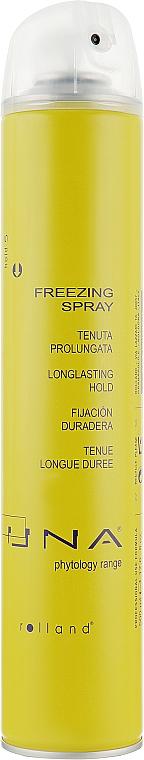 Спрей для экстра-сильной фиксации волос - Rolland Una Freezing Spray