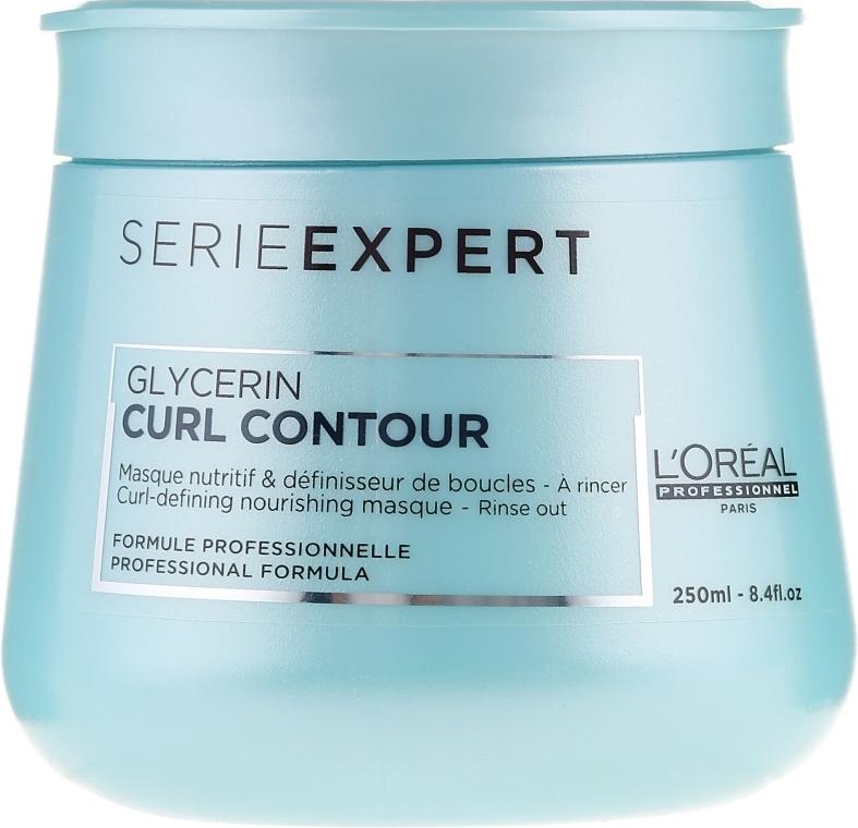 Питательная маска - L'Oreal Professionnel Curl Contour Glycerin Masque