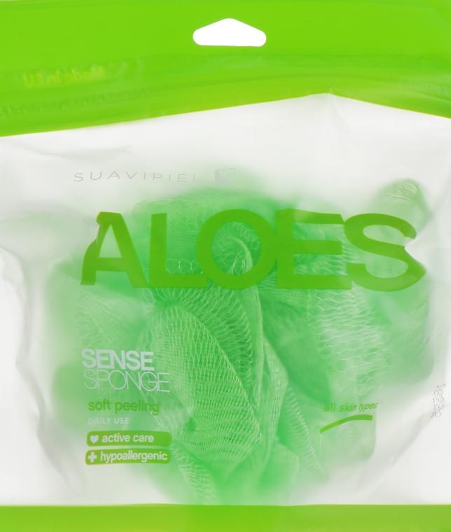 "Мочалка для душа ""Алоэ"" - Suavipiel Aloe Vera Sense Sponge"