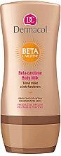 Духи, Парфюмерия, косметика Молочко для тела с бета-каротином - Dermacol Beta-carotene Body Milk