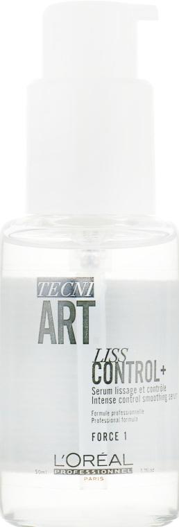 Сыворотка для создания гладких причесок - L'Oreal Professionnel Tecni.Art Liss Control Plus