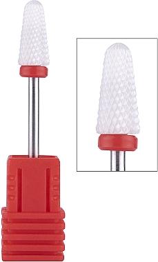 Насадка для фрезера керамическая (F) красная Umbrella - Vizavi Professional