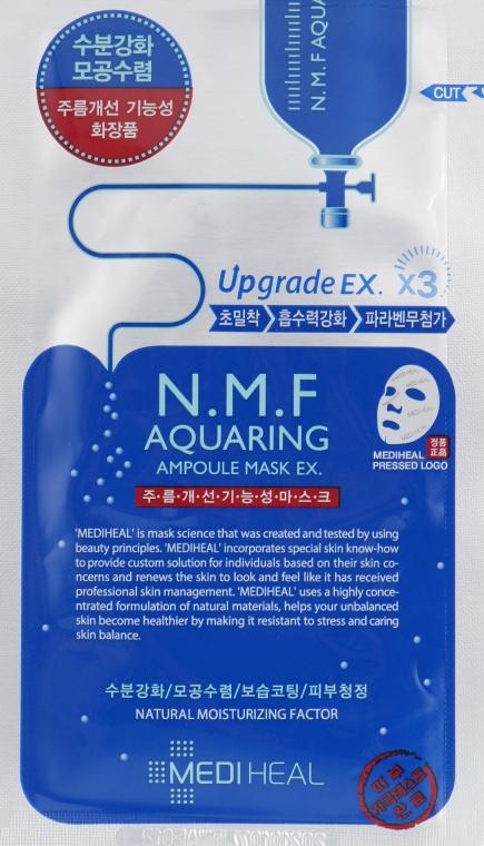 Увлажняющая маска для лица - Mediheal NMF Aquaring Ampoule Mask