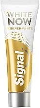 Духи, Парфюмерия, косметика Отбеливающая зубная паста - Signal White Now Forever Toothpaste