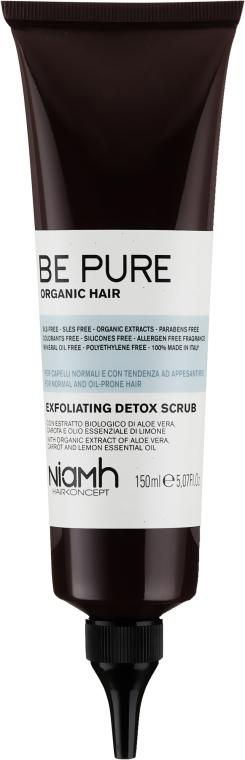 Детокс-скраб для кожи головы - Niamh Hairconcept Be Pure Detox Scrub