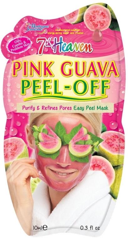 """Маска-пленка для лица """"Розовая гуава"""" - 7th Heaven Pink Guava Peel Off Mask"""
