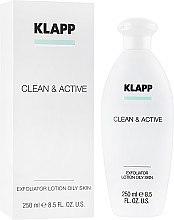 Духи, Парфюмерия, косметика Эксфолиатор для жирной кожи - Klapp Clean & Active Exfoliator Oily Skin