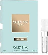 Духи, Парфюмерия, косметика Valentino Donna Rosa Verde - Туалетная вода (пробник)