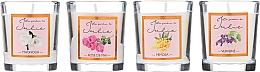 Духи, Парфюмерия, косметика Набор ароматических свечей - Ambientair Le Jardin de Julie