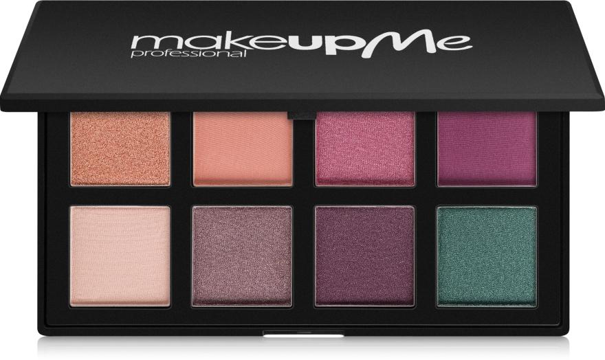 Профессиональная палитра теней 8 цветов, A8 - Make Up Me