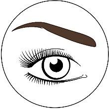 Хна для бровей, темно-коричневая - Mayur — фото N3