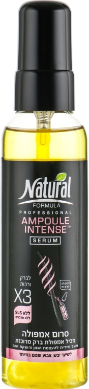 Сыворотка для волос - Natural Formula Professional Ampoule-Intense Serum