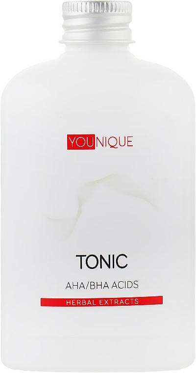 Тоник с АНА/ВНА- кислотами и растительными экстрактами - J'erelia YoUnique Tonic