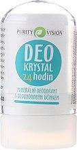 Духи, Парфюмерия, косметика Минеральный дезодорант - Purity Vision Deo Krystal 24 Hour Mineral Deodorant