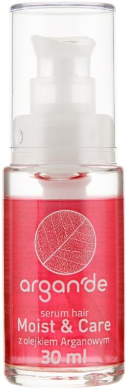 Увлажняющая сыворотка для волос - Stapiz Argan'de Moist & Care Serum