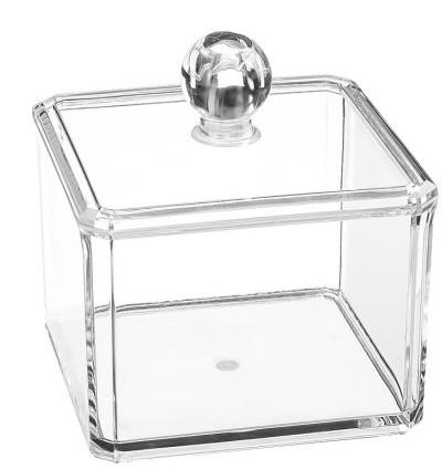 Органайзер косметический прозрачный (квадратный) - Kodi Professional