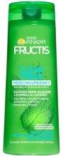 Духи, Парфюмерия, косметика Шампунь для жирных волос против перхоти - Garnier Fructis Clean Fresh Shampoo