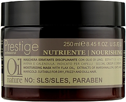 Духи, Парфюмерия, косметика Восстанавливающая маска для сухих и поврежденных волос - Erreelle Italia Prestige Oil Nature Nourishing Mask