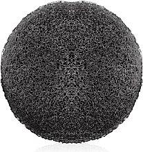 Духи, Парфюмерия, косметика Конжаковый очищающий спонж с бамбуковым углем, CSP-684 - Christian