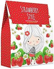 Духи, Парфюмерия, косметика Косметический детский набор - Velta Cosmetic Strawberry Style (sh/250ml + cr/soap/250ml)