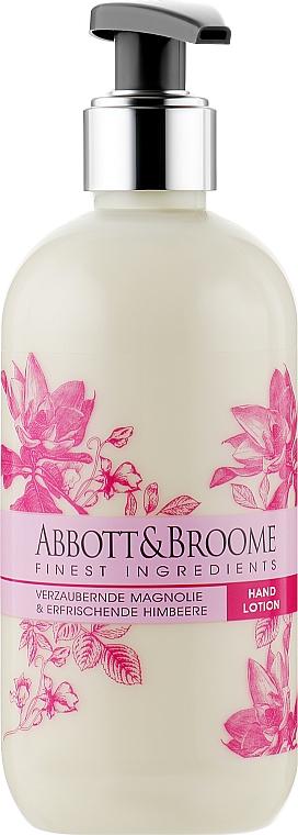 Лосьон для рук - Abbott&Broome Magnolie&Himbeere Hand Lotion