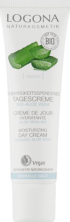 Крем для обличчя денний для чутливої шкіри - Logona Facial Care Day Cream Organic Aloe — фото N1
