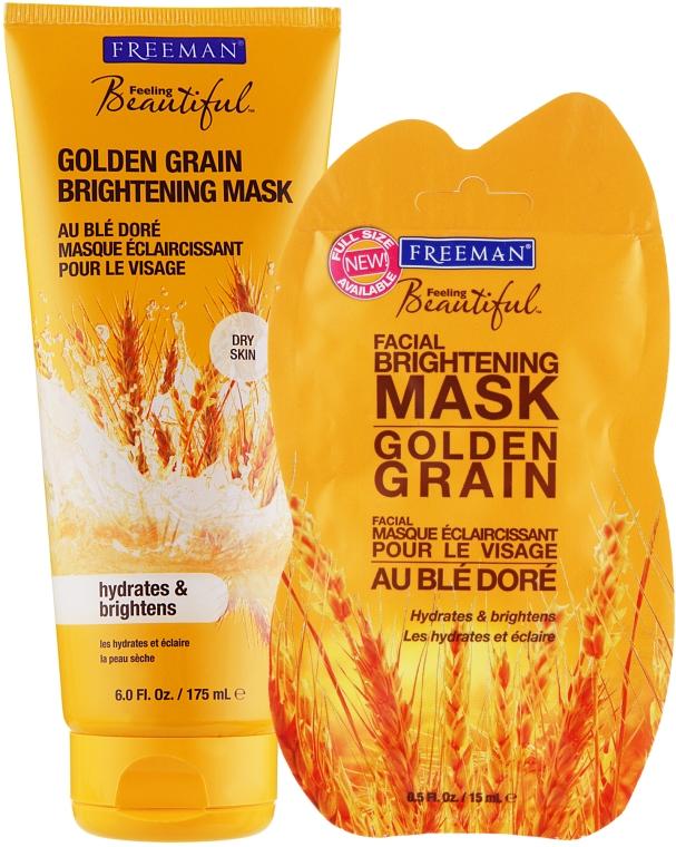 """Маска для лица """"Золотая Пшеница"""" - Freeman Feeling Beautiful Mask"""