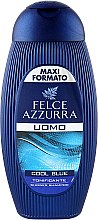 """Шампунь и гель для душа """"Cool Blue"""" - Felce Azzurra Shampoo And Shower Gel For Man — фото N3"""