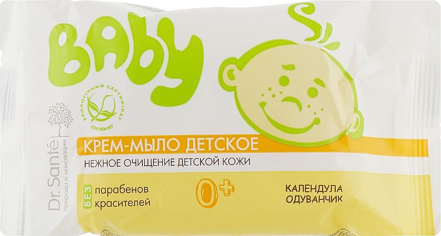 """Крем-мыло детское """"Календула и одуванчик"""" - Dr. Sante Baby"""