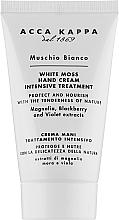 Духи, Парфюмерия, косметика Крем для рук - Acca Kappa White Moss Hand Cream
