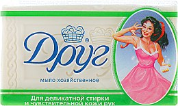 Духи, Парфюмерия, косметика Хозяйственное мыло для деликатной стирки и чувствительной кожи рук - Друг