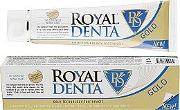 Духи, Парфюмерия, косметика Зубная паста с золотом - Royal Denta Gold Technology Toothpaste
