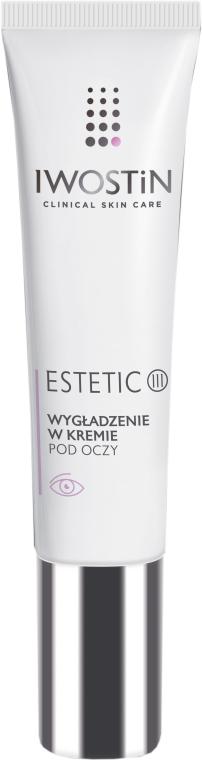 Разглаживающий крем для кожи вокруг глаз - Iwostin Estetic 3 Smoothing Eye Cream