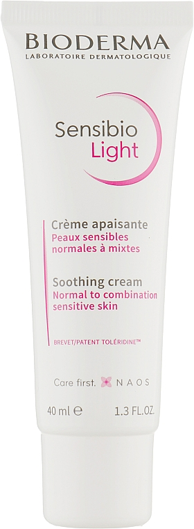 Легкий успокаивающий крем для лица - Bioderma Sensibio Light Soothing Cream
