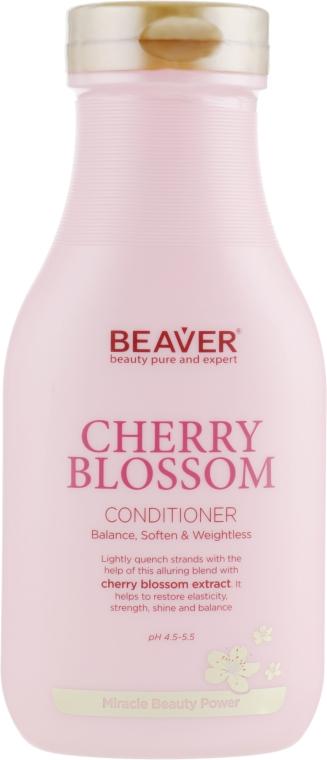 Кондиционер для ежедневного использования с экстрактом цветов Сакуры - Beaver Professional Cherry Blossom Conditioner
