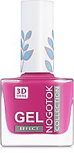 Парфумерія, косметика Лак для нігтів - Nogotok 3D Gel Effect New Palette