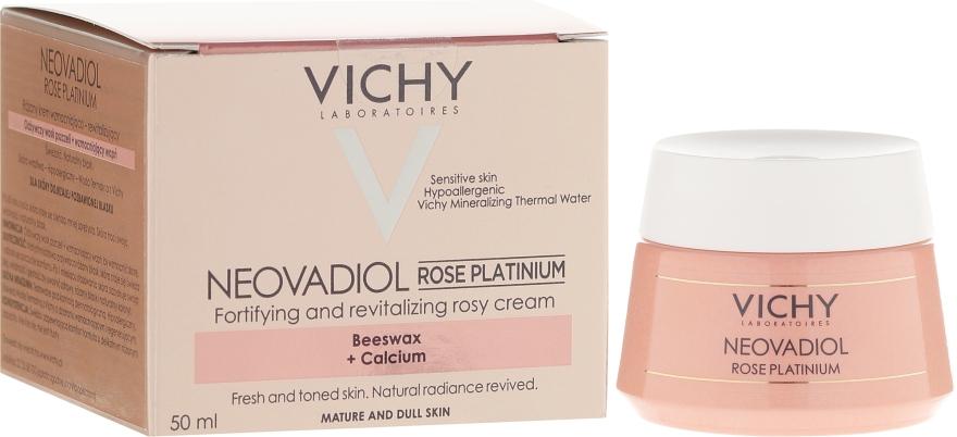 Осветляющий дневной крем для зрелой кожи - Vichy Neovadiol Rose Platinum Cream