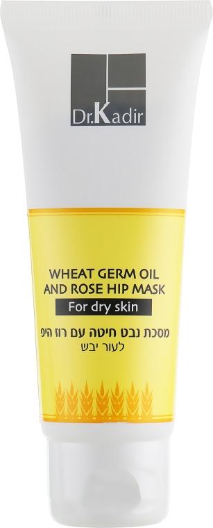 Маска для сухой кожи - Dr. Kadir Face Masks Wheat Germ Oil Rose Hip Mask