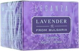 Духи, Парфюмерия, косметика РАСПРОДАЖА Восстанавливающий ночной крем - Leganza Lavender Calming Night Cream *