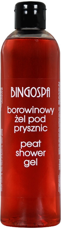 Гель для душа с экстрактом торфа - BingoSpa Peat Shower Gel