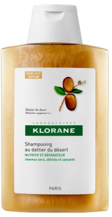 Шампунь питательный с маслом финика пустынного - Klorane Shampoo with Desert Date