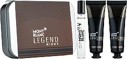 Парфумерія, косметика Montblanc Legend Night - Набір (edp/7.5ml + a/sh/balm/30ml + sh/gel/30ml)