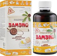 """Духи, Парфюмерия, косметика Детский хвойный экстракт для приготовления ванн """"Бамбино"""" - Лаборатория Доктора Пирогова"""