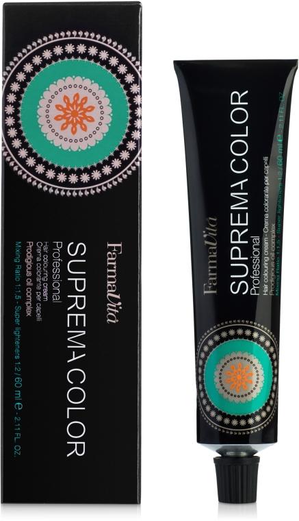 Стойкая крем-краска с низким содержанием аммиака - Farmavita Suprema Color Professional Hair Colouring Cream