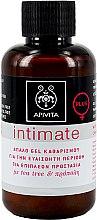 Духи, Парфюмерия, косметика Деликатный очищающий гель для интимной гигиены с чайным деревом и прополисом - Apivita Intimate