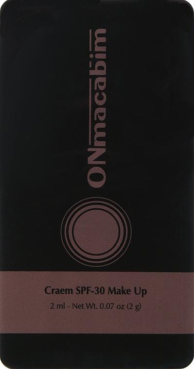 Тонирующий солнцезащитный крем - ONmacabim PR SunBlock Make Up SPF-30 Cream (пробник)