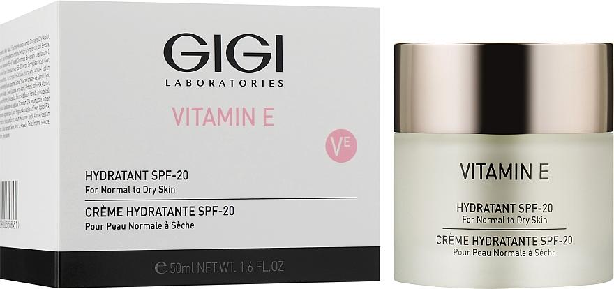 Зволожувач для сухої шкіри - Gigi Vitamin E Moisturizer for dry skin SPF 17 — фото N2