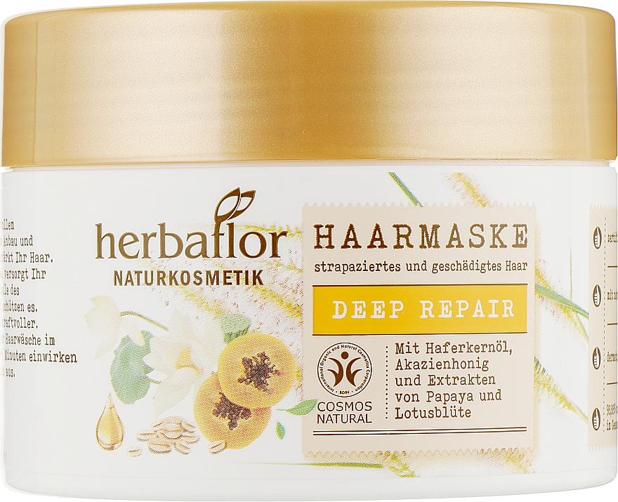 "Маска для волос ""Глубокое питание"" - Herbaflor Deep Repair Hair Mask"