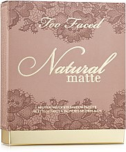 Палетка теней - Too Faced Natural Matte Neutral Eye Shadow Collection 2018 — фото N2